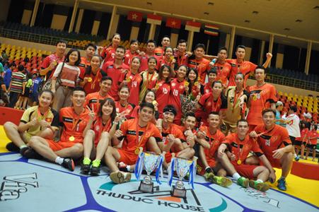 Giải vô địch Bóng ném Đông Nam Á lần IV – 2015: Thuduc House – Nhà tài trợ chính