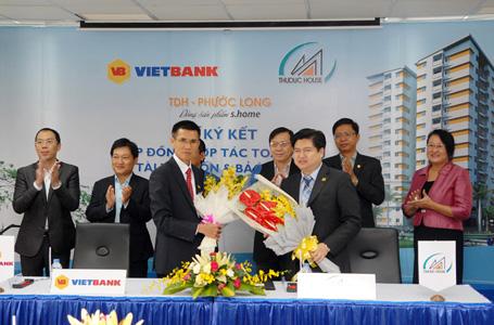 Thuduc House ký kết hợp tác với VietBank trong dự án chung cư TDH - Phước Long