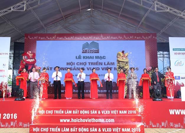 Khai mạc Viethome Expo 2016: Sản phẩm thật – chất lượng thật