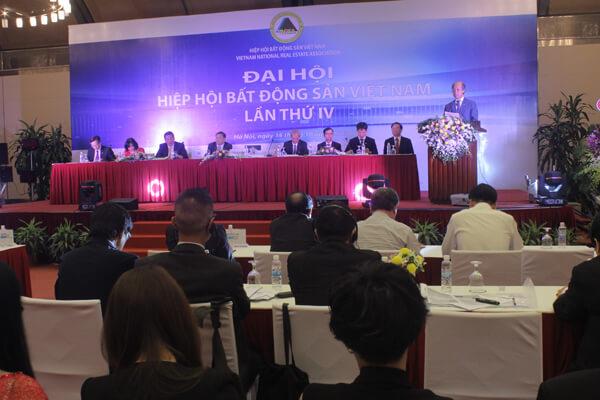 Hiệp hội BĐS Việt Nam tổ chức Đại hội Nhiệm kỳ IV