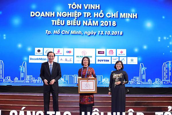 Thuduc House đạt danh hiệu Doanh nghiệp tiêu biểu TP.HCM 2018