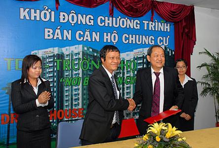 TDH & Dream House ký kết hợp đồng môi giới chung cư TDH - Trường Thọ