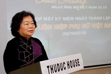 Họp mặt kỷ niệm 80 năm ngày thành lập HLHPN Việt Nam
