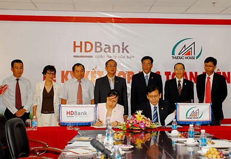 HDBank ký kết hợp tác toàn diện với ThuDuc House