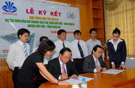 TDH ký kết hợp đồng hợp tác đầu tư với CECICO135