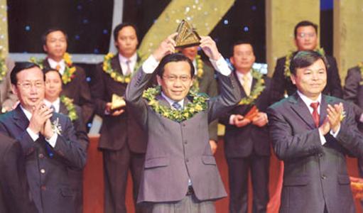 Sao vàng Thuduc House - TOP 100 trong 200 thương hiệu hàng đầu Việt Nam