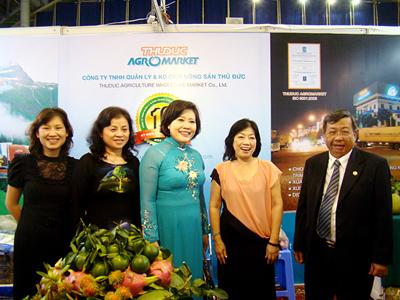 Thuduc Agromarket đồng hành cùng Hội chợ Tôn vinh hàng Việt năm 2013