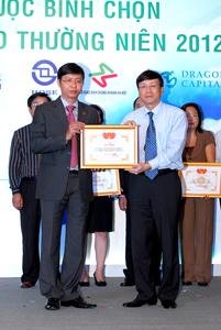 TDH 5 năm liền đoạt giải báo cáo thường niên tốt nhất