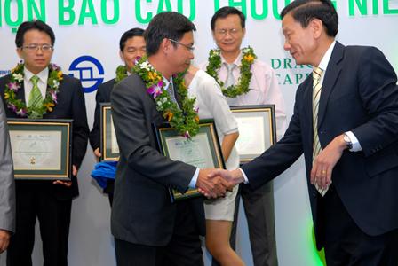 TDH lần thứ 4 đoạt giải BCTN tốt nhất 2011
