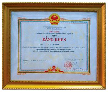 Thuduc House đón nhận bằng khen của Thủ Tướng Chính Phủ