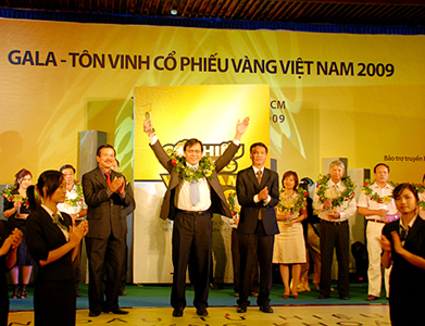 Thuduc House được vinh danh Cổ phiếu vàng Việt Nam 2009
