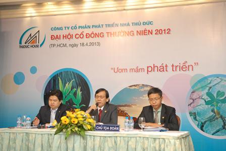TDH Tổ chức thành công Đại Hội Cổ Đông năm tài chính 2012