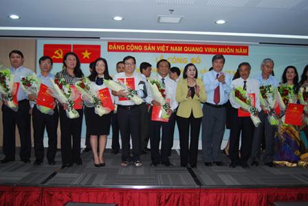 Chi bộ Thuduc House chuyển về Đảng bộ Công ty Đầu tư Tài Chính Nhà nước TP.HCM