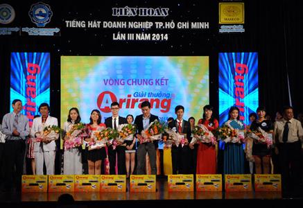 Tiếng hát doanh nghiệp TP.HCM năm 2014 - giải Arirang