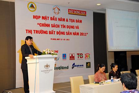 Tọa đàm: Chính sách tín dụng và thị trường BĐS năm 2011