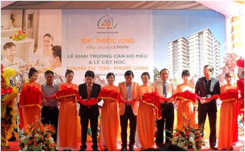 Dự án TDH-Phước Long chính thức cất nóc