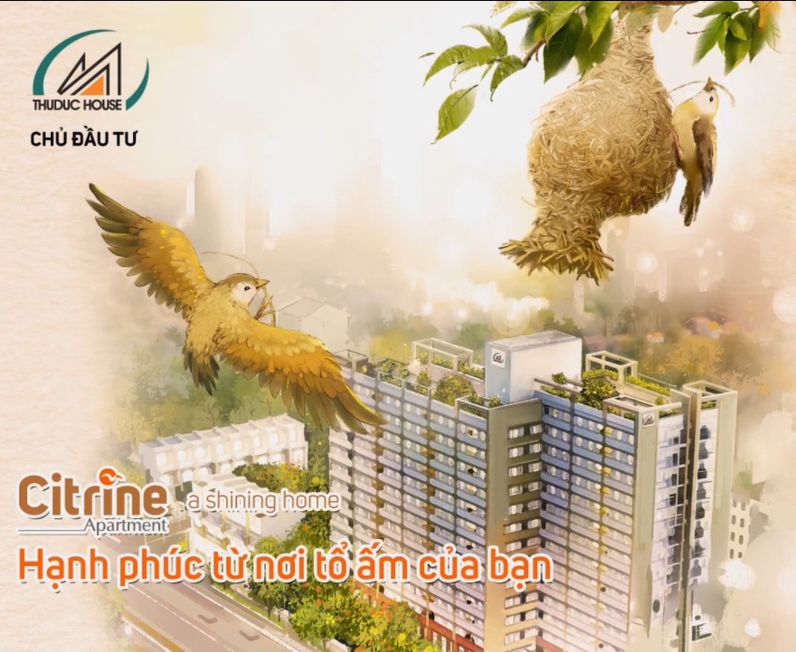 Lễ Cất Nóc Dự Án Citrine Apartment - Chủ Đầu Tư Thuduc House
